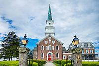 Conewego Chapel, oldest Roman Catholic stone church in the United States, Pennsylvania, USA