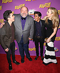 Cast of Disney's 'Jessie' Cameron Boyce, Kevin Chamberlin, Karan Brar and Peyton List attends the Broadway Opening Night Performance after party for 'Disaster!' at Hard Rock Cafe on March 8, 2016 in New York City.