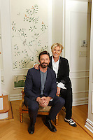 Hugh Jackman and wife Deborra Lee Furness in New York City unveil their plans for a foundation to promote performing arts in Western Australia. Jackman is a graduate of the West Australian Academy of Performing Arts.