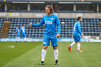 Gareth Ainsworth during the Celebrity football match in aid of the charity's 'Keep Moving Forward' programme which benefits people with mental health issues put together by Wycombe Wanderers Sports & Education Trust and Sellebrity Soccer Football Match at Adams Park, High Wycombe, England on 7 April 2019. Photo by David Horn.