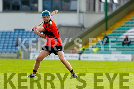 Nathan Guerin, Ballyheigue, during the Kerry County Minor Hurling Championship Final match between Ballyduff and Ballyheigue at Austin Stack Park in Tralee, Kerry.