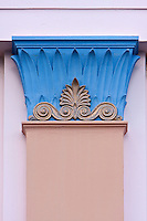 Art Deco Column Decoration, Napier, north island, New Zealand.