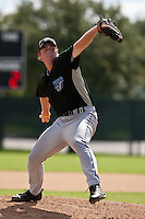 Nicholas Purdy of the Gulf Coast League Blue Jays at the ESPN Wide World of Sports Complex in Orlando, Florida August 21, 2010. Photo By Scott Jontes/Four Seam Images