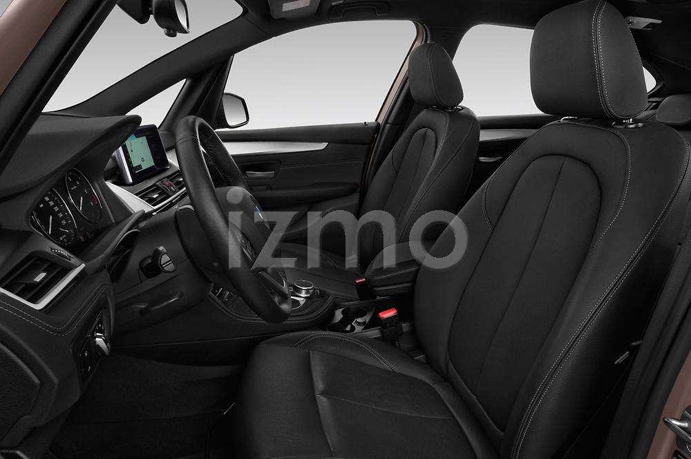 Front seat view of a 2018 BMW bmw 2activetourluxmv1fb 5 Door Mini Van front seat car photos