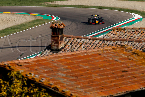 Motorsports: FIA Formula One World Championship, WM, Weltmeisterschaft 2020, Grand Prix of Emilia Romagna, 33 Max Verstappen NLD, Aston Martin Red Bull Racing 3rd on pole