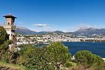 Switzerland, Ticino, view from Paradiso at Lugano   Schweiz, Tessin, Blick von Paradiso auf Lugano