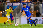 Kitchee Midfielder Robert dos Santos in action during the Preseason Friendly Match between Kitchee and Buriram United at Mong Kok Stadium on August 18, 2018 in Hong Kong. Photo by Marcio Machado/Photo by Marcio Machado/Power Sport Images