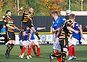 Alloa's Greig Spence scores their second goal.