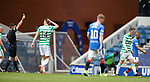 02.05.2021 Rangers v Celtic: Callum McGregor yellow carded