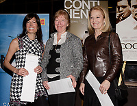 Montreal (Qc) CANADA -February 26, 2008 - <br /> Marie-Ginette Guay (M)<br /> Anne-Marie Cadieux ((L)<br />  Veronique Le Flaguais (R)<br /> ,Quebec Finalists for the Genies Award that will be given March 3rd in Toronto.<br /> <br /> photo : Pierre Roussel (c)  Images Distribution