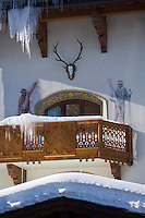 Europe/France/Rhone-Alpes/73/Savoie/Courchevel:  Restaurant: L'Hotel Les Airelles
