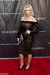 Scream Queen actress Sarah French at Icon designer Sue Wong's celebrity red carpet birthday event LA