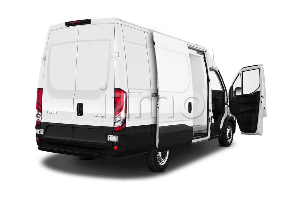 Car images close up view of a 2018 Iveco Daily 35S 4 Door Cargo Van doors