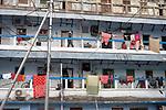 A slum community home in Kolkata during 21 days lock down in India due to covid 19 pandemic. Kolkata, West Bengal, India. Arindam Mukherjee.