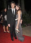 Dave Annable and Odette Yustman leaving The 68th Annual Golden Globe Awards held at The Beverly Hilton Hotel in Beverly Hills, California on January 16,2011                                                                               © 2010 DVS / Hollywood Press Agency