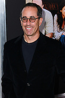 """NEW YORK, NY - SEPTEMBER 16: Jerry Seinfeld arrives at the """"Enough Said"""" New York Screening held at Paris Theater on September 16, 2013 in New York City. (Photo by Jeffery Duran/Celebrity Monitor)"""