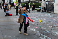 """Grazie mille Signora Clara.<br /> <br /> London, 21/06/2016. Today, hundreds of people gathered in Trafalgar Square to hold a demonstration in support with the """"Stay In the EU/Remain in the EU"""" campaigns ahead of the EU referendum which will be held in Great Britain the 23rd of June 2016. From the organiser Facebook page: <<[…] Thursday's vote is about much more than the tangible benefits of our membership in the EU, it's about the kind of country we want to live in and the kind of future we want to see. […] Let's come together to promote the values that define our generation and make sure we vote Remain on June 23rd>>.<br /> <br /> For more information please click here: https://www.facebook.com/events/1726890050917017/?active_tab=highlights"""