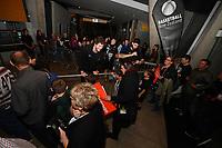 New Zealand Tall Blacks' Rob Loe, FIBA World Cup Basketball Qualifier - NZ Tall Blacks v Jordan at Horncastle Arena, Christchurch, New Zealand on Thursday 29 November  2018. <br /> Photo by Masanori Udagawa. <br /> www.photowellington.photoshelter.com