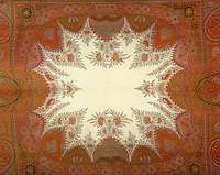 A fine example of an intricate paisley design