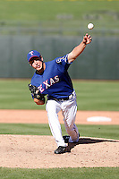 Derek Holland / Texas Rangers.Photo by:  Bill Mitchell/Four Seam Images