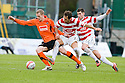 05/02/2011   Copyright  Pic : James Stewart.sct_jsp016_hamitlon_v_dundee_utd  .::  KEITH WATSON HOLDS OFF MARCO PAIXAO AND MARK CARRINGTON ::.James Stewart Photography 19 Carronlea Drive, Falkirk. FK2 8DN      Vat Reg No. 607 6932 25.Telephone      : +44 (0)1324 570291 .Mobile              : +44 (0)7721 416997.E-mail  :  jim@jspa.co.uk.If you require further information then contact Jim Stewart on any of the numbers above.........