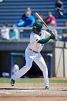 Beloit Snappers shortstop Eric Marinez (2) at bat during a game against the Bowling Green Hot Rods on May 7, 2017 at Pohlman Field in Beloit, Wisconsin.  Bowling Green defeated Beloit 6-2.  (Mike Janes/Four Seam Images)