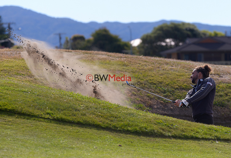 Luke Toomey. Day four of the Renaissance Brewing NZ Stroke Play Championship at Paraparaumu Beach Golf Club in Paraparaumu, New Zealand on Sunday, 21 March 2021. Photo: Dave Lintott / lintottphoto.co.nz