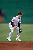 Jackson Generals shortstop Galli Cribbs Jr. (2) during a Southern League game against the Mississippi Braves on July 23, 2019 at The Ballpark at Jackson in Jackson, Tennessee.  Mississippi defeated Jackson 1-0 in the second game of a doubleheader.  (Mike Janes/Four Seam Images)