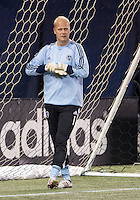 March 9, 2013: Sporting KC goalkeeper Jimmy Nielsen #1in action during the warm-up in a game between Toronto FC and Sporting Kansas City at the Rogers Centre in Toronto, Ontario Canada..Toronto FC won 2-1.
