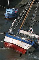 Europe/France/Pays de la Loire/85/Vendée/Ile d'Yeu/Côte Sauvage: Vieux gréement au port de la Meule