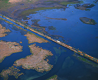Mississippi River Delta Aerial Photography