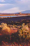 Hanford Site, deactivated 100-N atomic reactors, Columbia River, from Hanford Reach National Monument, Eastern Washington State, Pacific Northwest, USA