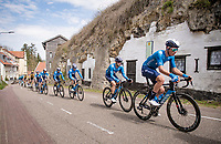 Johan Jacobs (SUI/Movistar)<br /> <br /> 55th Amstel Gold Race 2021 (1.UWT)<br /> 1 day race from Valkenburg to Berg en Terblijt; raced on closed circuit (NED/217km)<br /> <br /> ©kramon