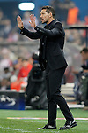 Atletico de Madrid's coach Diego Pablo Cholo Simeone during Champions League 2015/2016 match. September 30,2015. (ALTERPHOTOS/Acero)