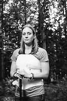 """Amber Kohnhorst/Survivor Amber Kohnhorst, photographed for her story of """"Survival, Out Alive"""" in Backpacker Magazine"""