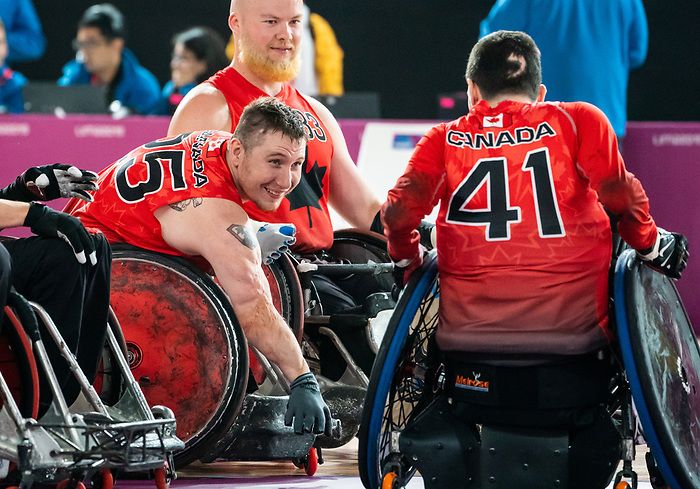 Shayne Smith, Lima 2019 - Wheelchair Rugby // Rugby en fauteuil roulant.<br />