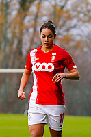 Lola Wajnblum (11 Standard) pictured during a female soccer game between Standard Femina de Liege and RSC Anderlecht on the 9th matchday of the 2020 - 2021 season of Belgian Scooore Womens Super League , saturday 12 th of December 2020  in Angleur , Belgium . PHOTO SPORTPIX.BE   SPP   SEVIL OKTEM
