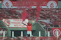 22nd August 2020; Estadio Beira Rio, Porto Alegre, Brazil; Brazilian Serie A, Internacional versus Atletico Mineiro; Saci, the mascot of Internacional