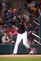 Rochester Red Wings left fielder Adam Walker (30) at bat during a game against the Syracuse Chiefs on July 1, 2016 at Frontier Field in Rochester, New York.  Rochester defeated Syracuse 5-3.  (Mike Janes/Four Seam Images)