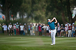 Justin Rose of England hits the ball during Hong Kong Open golf tournament at the Fanling golf course on 24 October 2015 in Hong Kong, China. Photo by Xaume Olleros / Power Sport Images