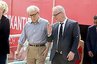 WOODY ALLEN - THIERRY FREMAUX - CANNES 2016 - PHOTOCALL 'CAFE SOCIETY'