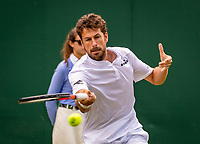 London, England, 3 July, 2019, Tennis,  Wimbledon, Robin Haase (NED)<br /> Photo: Henk Koster/tennisimages.com