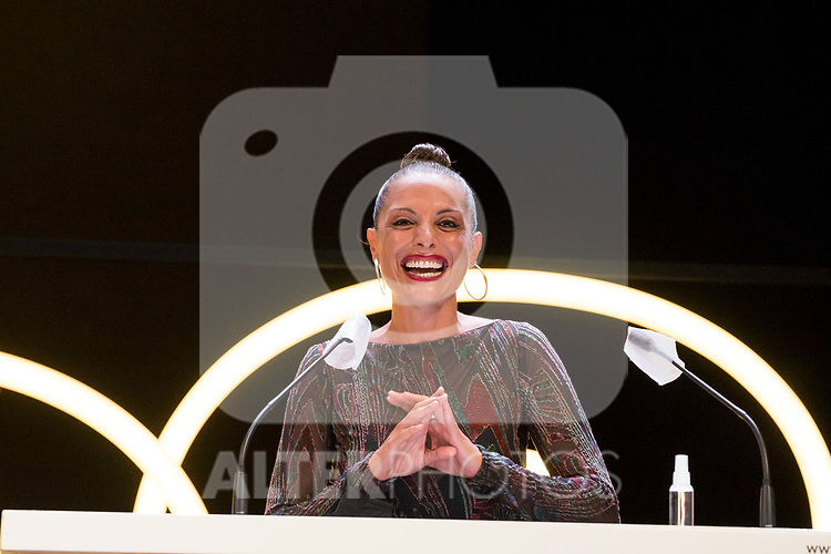 Actress Virginia Munoz during Malaga Film Festival Gala at Teatro Cervantes.August 24 2020. (Alterphotos/Francis González)
