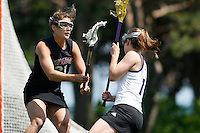20 June 2006: Maris Perlman during Stanford's 17-9 loss to Northwestern in the first round of the 2006 NCAA Lacrosse Championships in Evanston, IL. Stanford made it to the NCAA's for the first time in school history.
