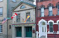 Canada Saint John New Brunswick Kings Square Old No 2 Engine House Museum on Rue Sydney