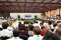 LA HABANA - COLOMBIA, 23-06-2016 Hoy en La Habana se firma el acuerdo para el cese al fuego y de hostilidades bilateral y definitivo entre el gobierno de Colombia y la guerrilla de las Farc. / Today at La Habana, Cuba, is the signing of the agreement of the definitive ceasefire and hostilities between Colombia Government and left guerrillas of Farc. Photo: VizzorImage /  Nelson Cardenas - SIG / HANDOUT PICTURE; MANDATORY EDITORIAL USE ONLY/ NO MARKETING, NO SALES