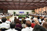 LA HABANA - COLOMBIA, 23-06-2016 Hoy en La Habana se firma el acuerdo para el cese al fuego y de hostilidades bilateral y definitivo entre el gobierno de Colombia y la guerrilla de las Farc. / Today at La Habana, Cuba, is the signing of the agreement of the definitive ceasefire and hostilities between Colombia Government and left guerrillas of Farc. Photo: VizzorImage /  Nelson Cardenas - SIG / HANDOUT PICTURE; MANDATORY EDITORIAL USE ONLY/ NO MARKETING, NO SALES