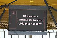 05.06.2019: Öffentliches Training Nationalmannschaft in Aachen