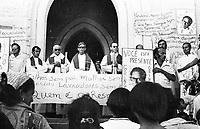 Enterro do líder sindical Gringo no sul do Pará<br /> Conceição do Araguaia-Pará-Brasil <br />1977.<br />Foto:Lúcio Flávio Pinto/ Interfoto