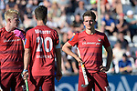 GER - Mannheim, Germany, May 27: During the men semi-final match between Rot-Weiss Koeln and Harvestehuder THC at the Final4 tournament May 27, 2017 at Am Neckarkanal in Mannheim, Germany. (Photo by Dirk Markgraf / www.265-images.com) *** Local caption *** Moritz TROMPERTZ #10 of Rot-Weiss Koeln